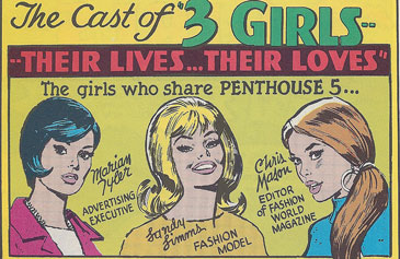 True Romance Comic late 60s updated for swinging girls still looking for love
